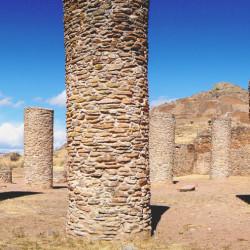 Salon de las Columnas at La Quemada