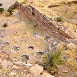 Excavation Pits at La Quemada