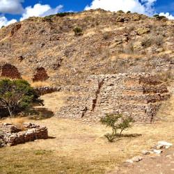 Pirámide de los Sacrificios at La Quemada