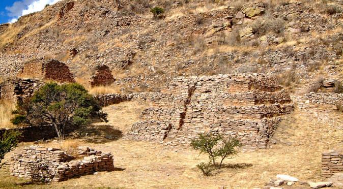 Piramide de los Sacrificios at La Quemada