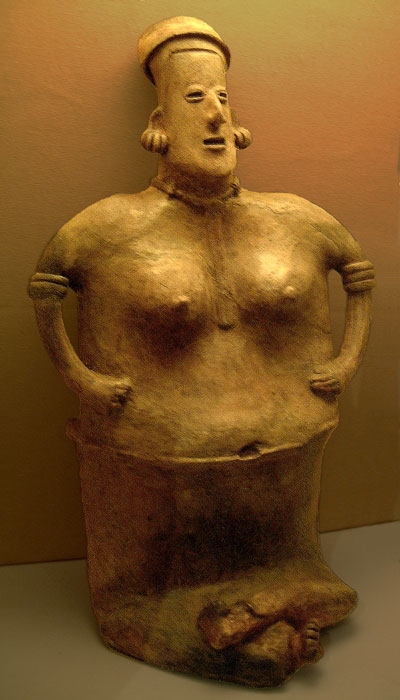 Nayarit figurine of a female
