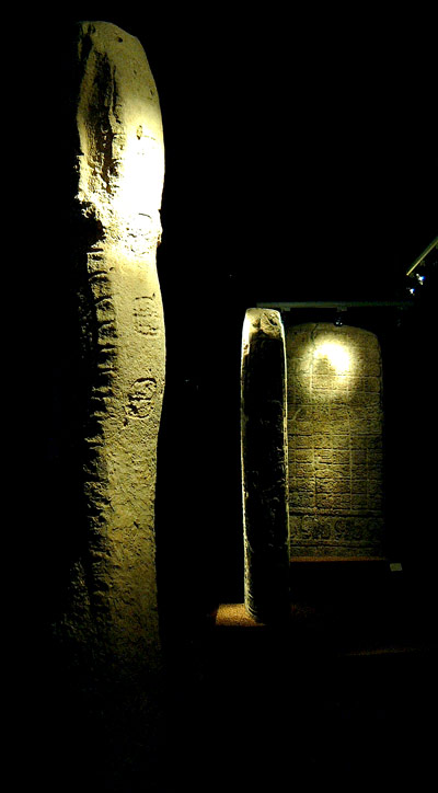 Three stelae from Tortuguero