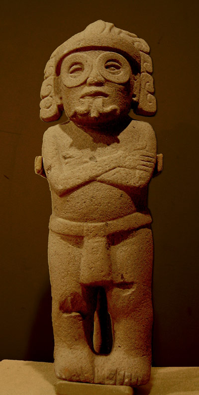 This is a statue of a deity presumed to be Cociyo