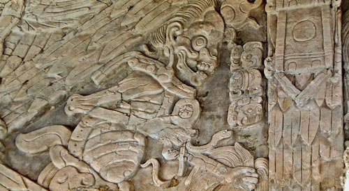 Frieze of the Dream Lords at Tonina