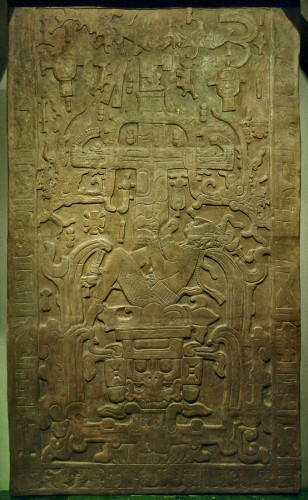K'inich Janab Pakal's Sarcophagus Lid from Palenque