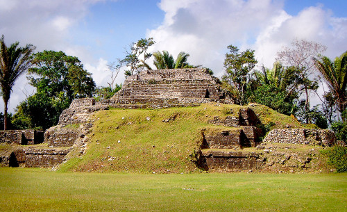 Structure A1 at Altun Ha