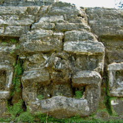 Mask on Structure B4 at Altun Ha