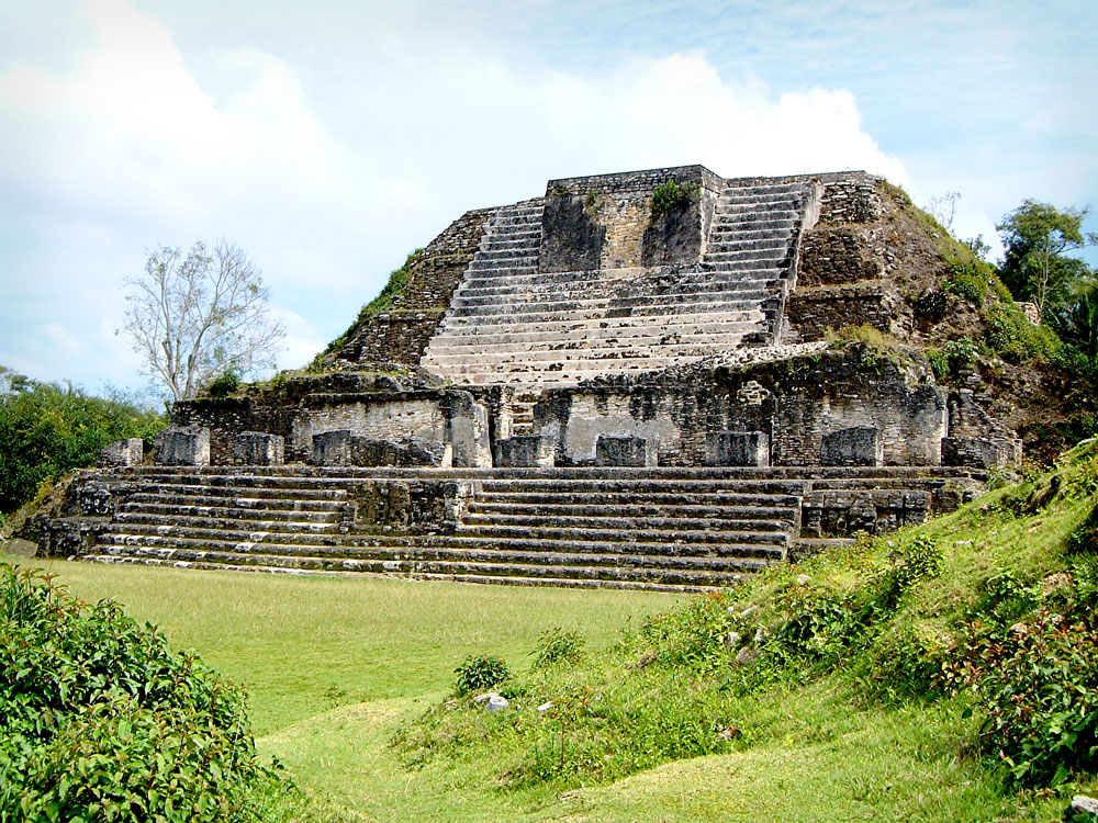 Structure B4 at Altun Ha