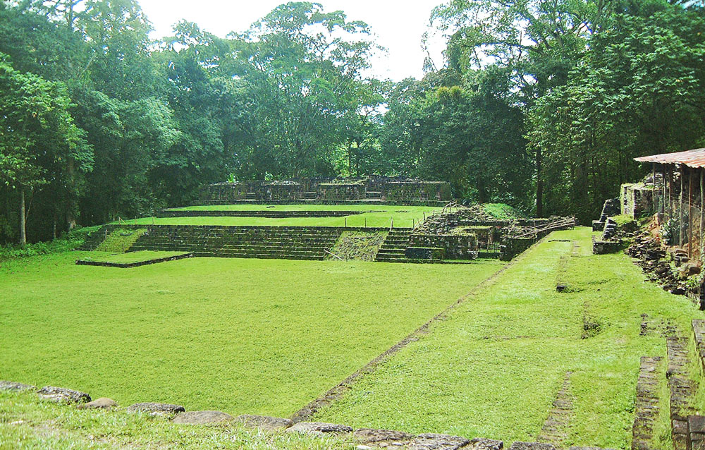 Structure 1B-1 at Quirigua