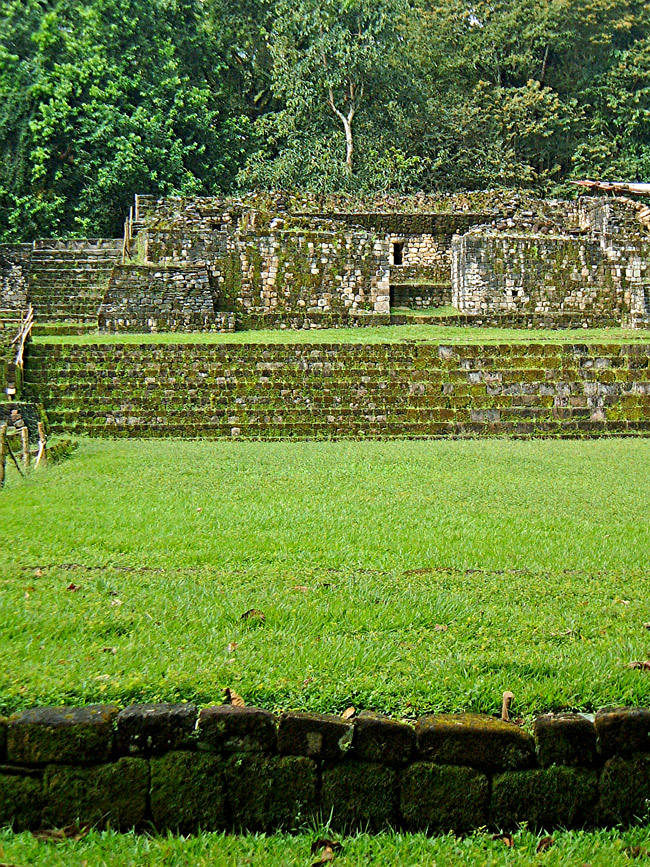 Structure 1B-3 at Quirigua