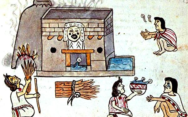 Codex Magliabechiano - Temazcalli