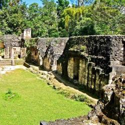 Acanaladuras Palace at Tikal