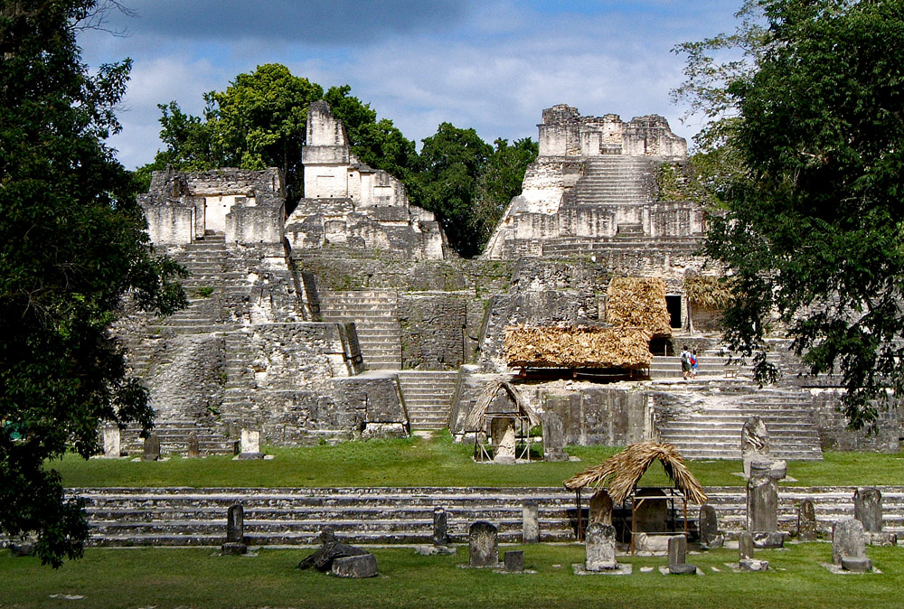 The Acropolis Norte at Tikal