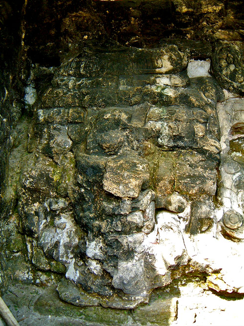 Mask from Structure 5D-33 at Tikal