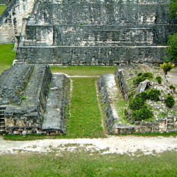 The Ballcourt on the Main Plaza at Tikal