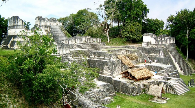 North Acropolis at Tikal