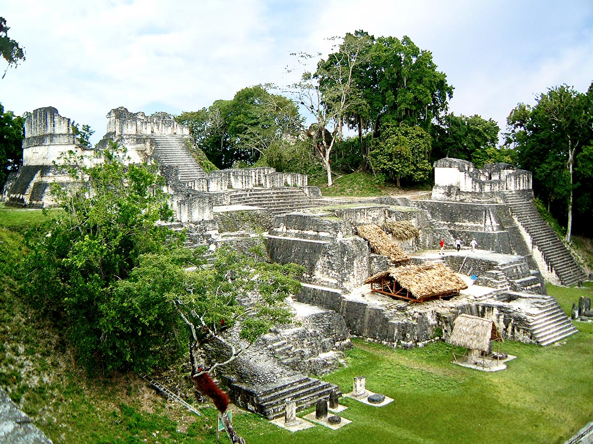 North Acropolis at Tikal