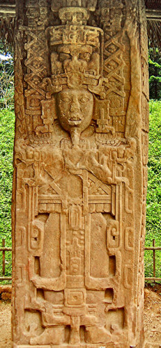 Stela A at Quirigua