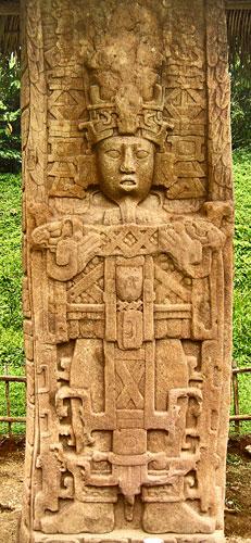 Stela C at Quirigua