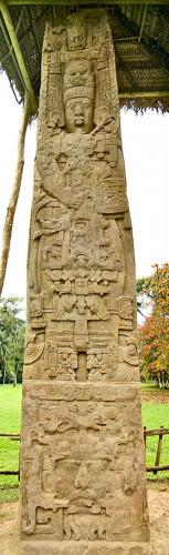 Stela E at Quirigua
