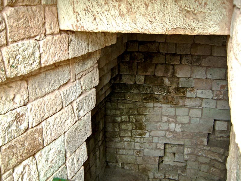 Tomb Entrance in Structure 10L-18 at Copan