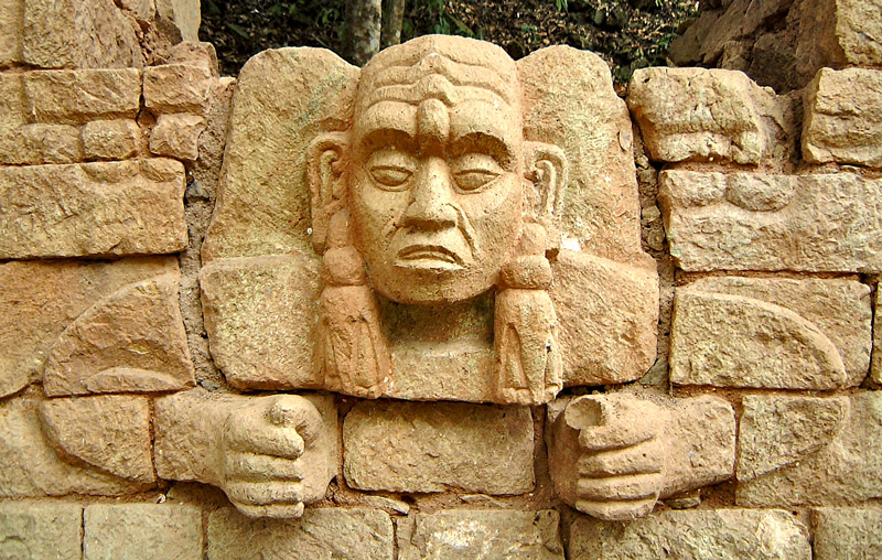 Figure from Structure 29 at Copan