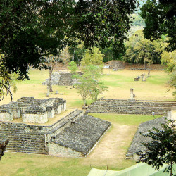 Ballcourt in Great Plaza at Copan
