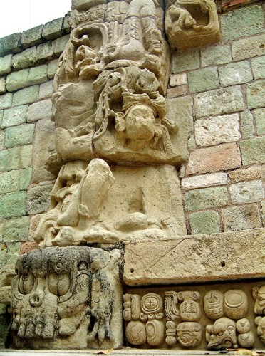 Carvings from Doorway of Templo 22