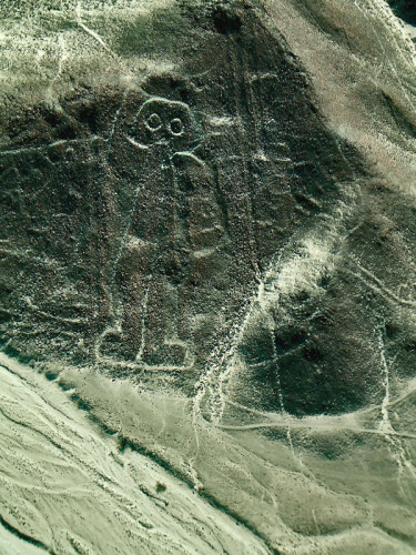 The Astronaut at the Nasca Lines
