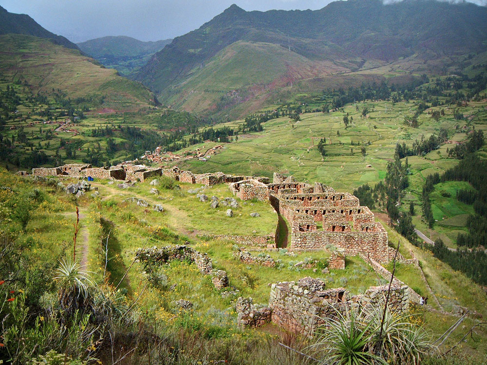 Pisaqa Residential Area at Pisac