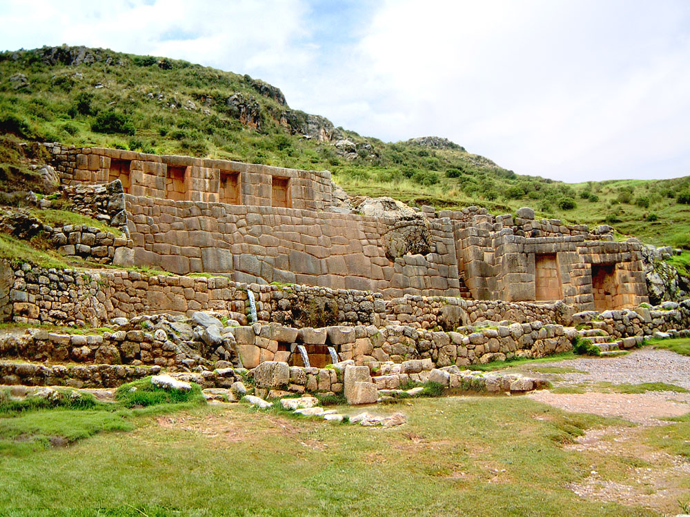 Inca Bathing House of Tambo Ma'chay