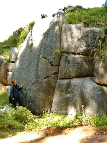 Megalithic Wall at Qenqo