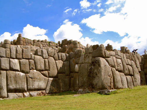 Megalithic Wall at Sacsaywaman