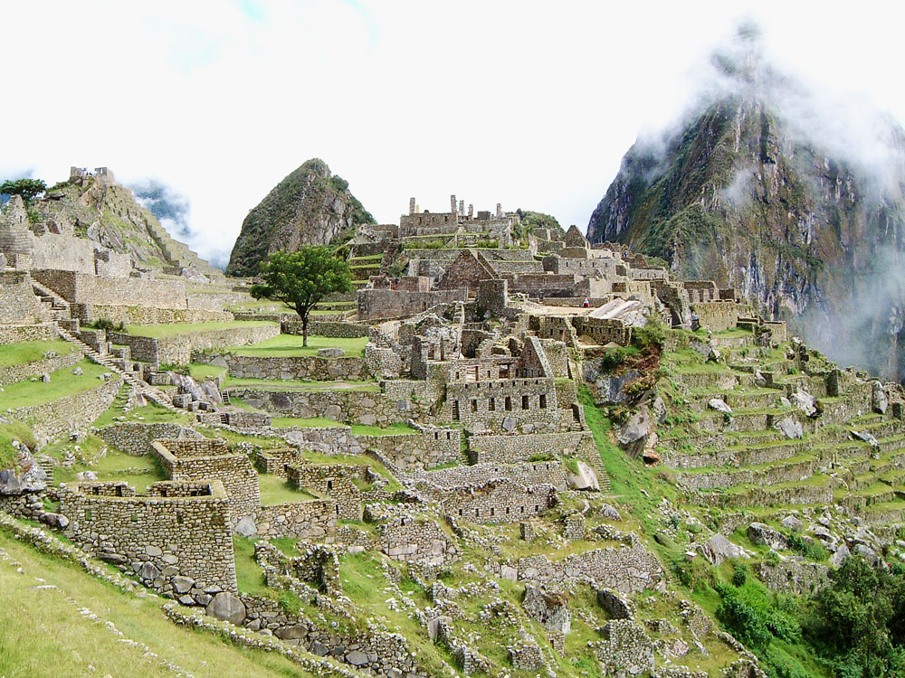 Machu Picchu's City Centre