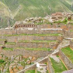 Pumatallis at Ollantaytambo