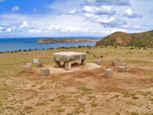 13 Stone Circle at Isla Del Sol
