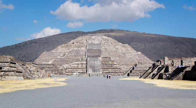 Pyramid of the Moon at Teotihuacan