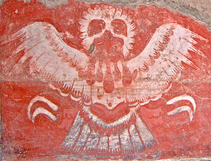 Owl of Tetitla at Teotihuacan