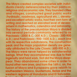 Chicanna Maya Information Board