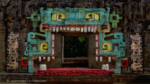 Chicanna Structure II Serpent Mouth Coloured