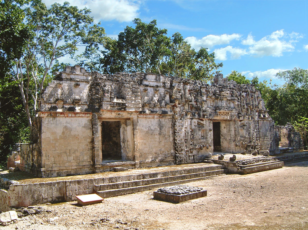Twin Entrances of Chicanna Structure II